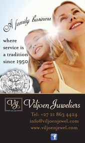 Advert for Viljoen Juweliers
