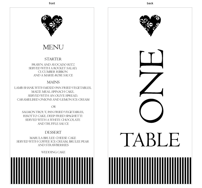 Table number and menu combined - Modern Love: CRD001-003-TNM01-FRONT-AND-BACK.png