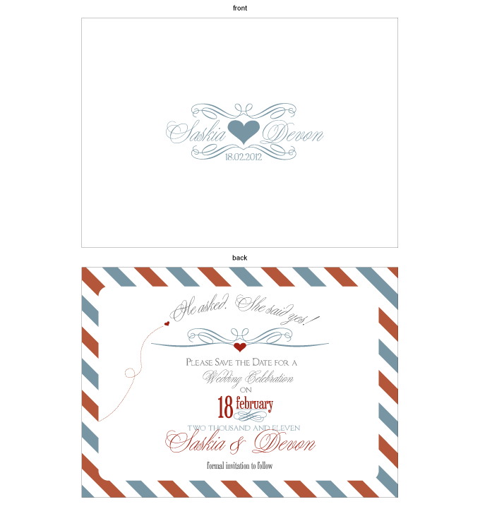 Save the date - French Vintage: CRD001-006-STD01-FRONT-AND-BACK.png