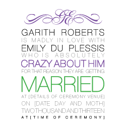 Wedding Invitation: Simplicity, designed by Invitation Gallery (In-House Collection)