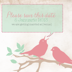 Wedding Invitation: Vintage Days, designed by Invitation Gallery (In-House Collection)