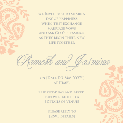 Wedding Invitation: Sugar and Spice, designed by Invitation Gallery (In-House Collection)