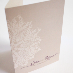 Wedding Invitation: Dainty, designed by Invitation Gallery (In-House Collection)