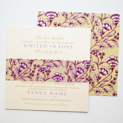 Wedding Invitation: Flora, designed by Invitation Gallery (In-House Collection)