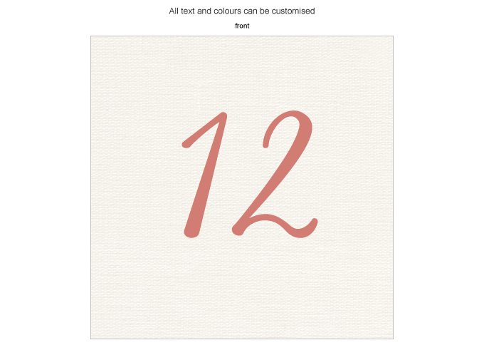 Table number - I Love you sew!: ING001-019-TAN01-FRONT.png