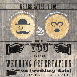 Wedding Invitation: Mr. and Mrs., designed by Invitation Gallery (In-House Collection)