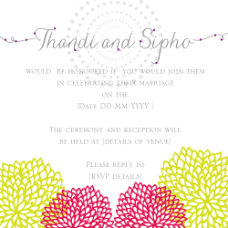 Wedding Invitation: Joyful, designed by Invitation Gallery (In-House Collection)