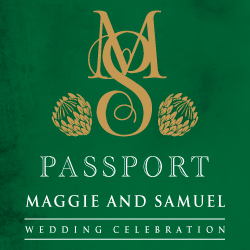 Wedding Invitation: Passport to Love - Two, designed by Invitation Gallery (In-House Collection)