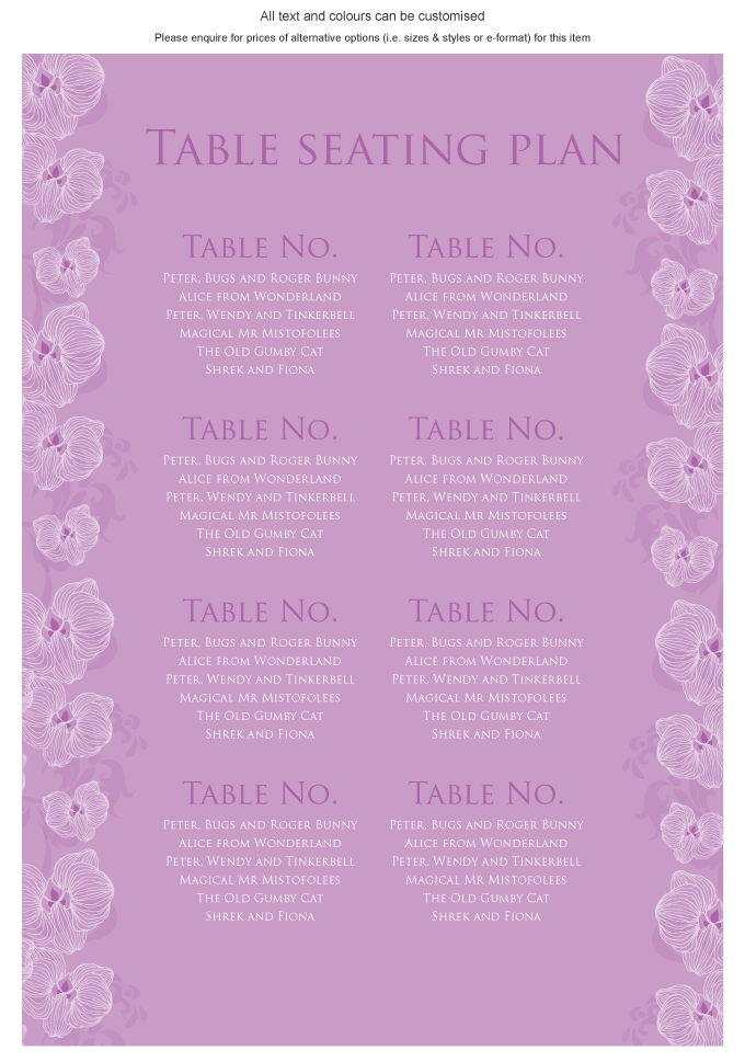 Seating plan - Orchid: ING001-057-SEP01.png