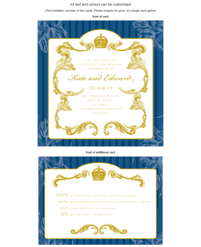 Invitation - Royal Wreath: ING001-059-INV01.png
