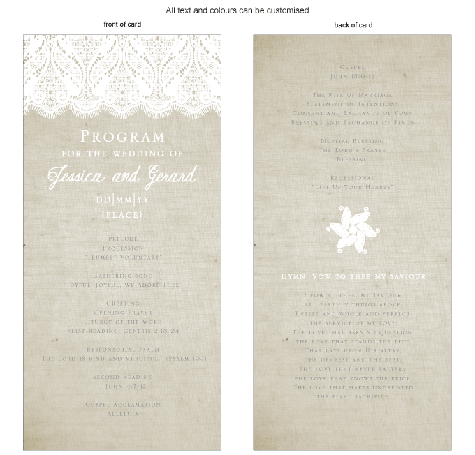 Program for the day - Rustic Lace: ING001-060-PRO01.png