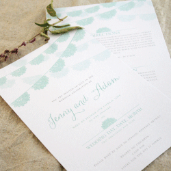 Wedding Invitation: Dolly, designed by Invitation Gallery (In-House Collection)