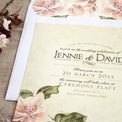 Wedding Invitation: Vintage Forever, designed by Invitation Gallery (In-House Collection)