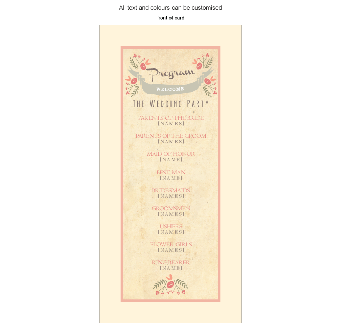 Program for the day - Vintage Spring: Invitation-Gallery-ING001-069-PRO01.png