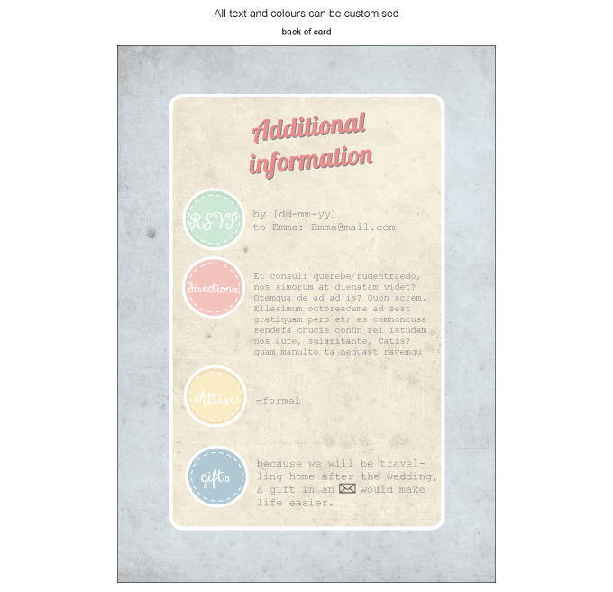 Invitation - Vintage Daydreams: Invitation-gallery-ING001-070-INV01-BACK.png