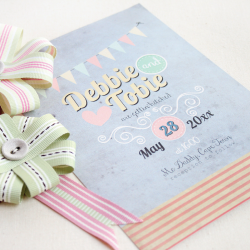 Wedding Invitation: Vintage Daydreams, designed by Invitation Gallery (In-House Collection)