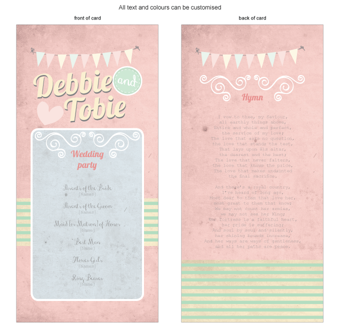 Program for the day - Vintage Daydreams: Invitation-gallery-ING001-070-PRO01.png
