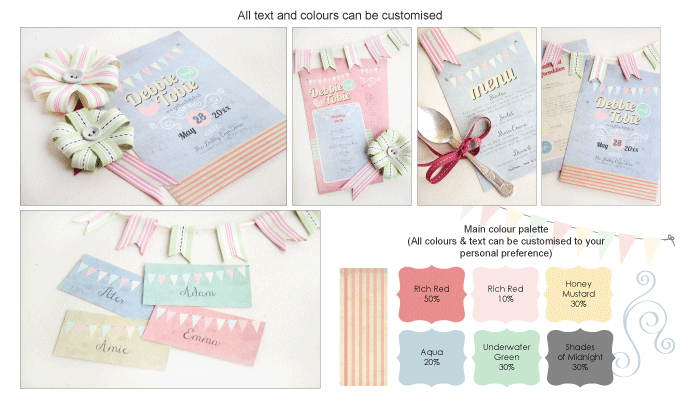 Invitation - Vintage Daydreams: Invitation-gallery-ING001-070-Photo-board.png