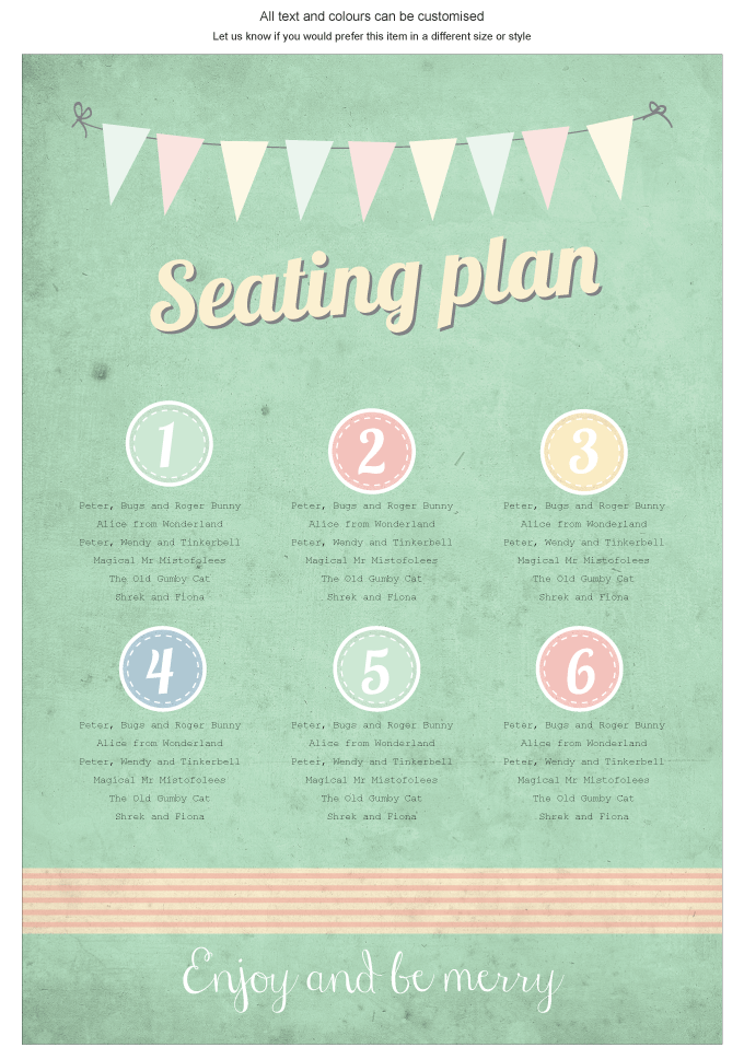 Seating plan - Vintage Daydreams: Invitation-gallery-ING001-070-SEP01.png