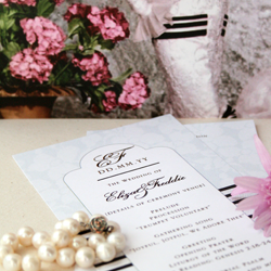 Wedding Invitation: My Fair Lady, designed by Invitation Gallery (In-House Collection)