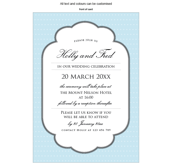 Invitation - Breakfast at Tiffany's: Invitation-Gallery-ING001-073-INV01-FRONT.png