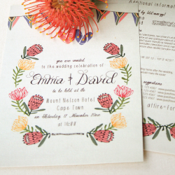 Wedding Invitation: Pincushion Love, designed by Invitation Gallery (In-House Collection)