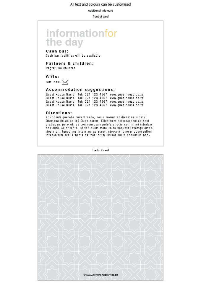 Additional Card - Silver Sunshine: Invitation-gallery-ING001-076-ADD01-FRONT-AND-BACK.png
