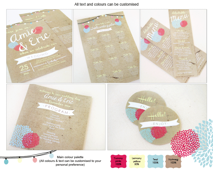 Invitation - Summer Kisses: invitation-gallery-wedding-stationery-ING001-082-INV01-collage.png