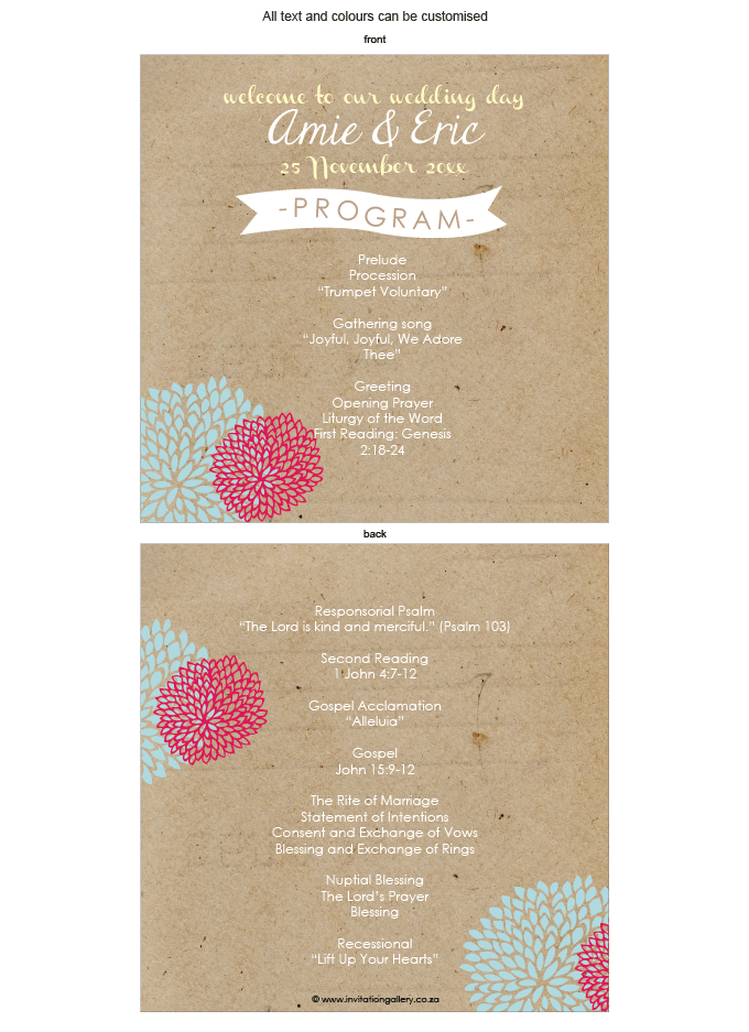 Program for the day - Summer Kisses: invitation-gallery-wedding-stationery-ING001-082-PRO01.png