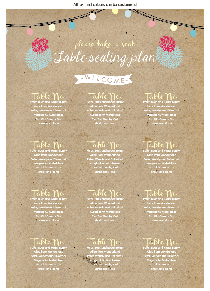 Seating plan - Summer Kisses: invitation-gallery-wedding-stationery-ING001-082-SEP01.png