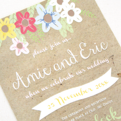 Wedding Invitation: Summer Feast, designed by Invitation Gallery (In-House Collection)