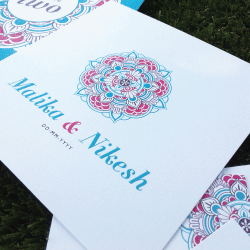 Wedding Invitation: Mandala, designed by Invitation Gallery (In-House Collection)