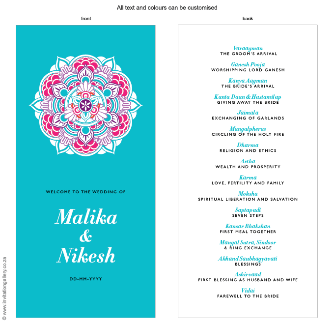 Program for the day - Mandala: invitation-gallery-wedding-stationery-mandala-foil-hindu-programme.png