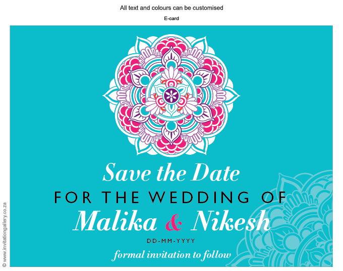 Save the Date - HTML for email - Mandala: invitation-gallery-wedding-stationery-mandala-foil-hindu-save-the-date.png