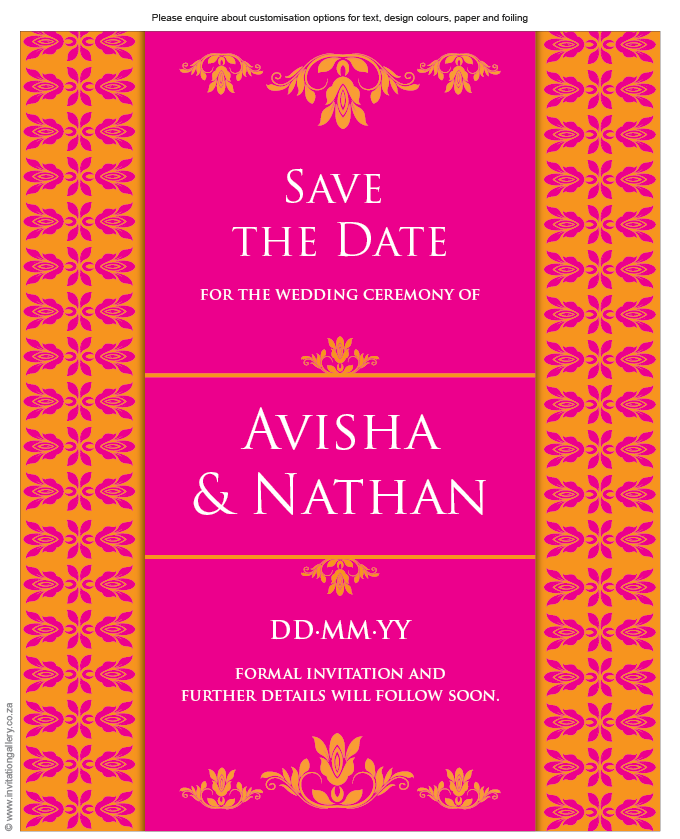 Save the Date - HTML for email - Tangerine: Invitation-gallery-wedding-stationery-eastern-india-foil-save-the-date.png