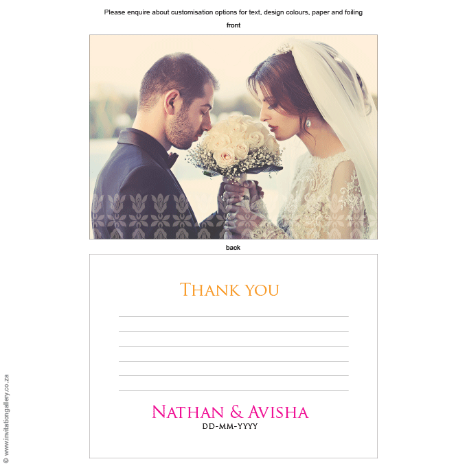 Thank you - Tangerine: Invitation-gallery-wedding-stationery-eastern-india-thank-you.png