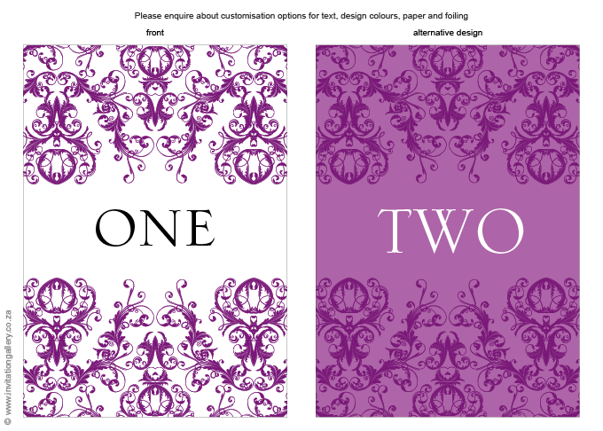 Table number - Patchouli: Invitation-gallery-wedding-invitation-foil-eastern-damask-table-number.png