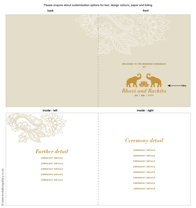 Program for the day - Padma: invitation-gallery-wedding-stationery-lotus-elephant-foil-programme.png