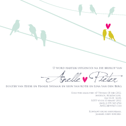 Wedding Invitation: Sitting on the Fence, designed by Participating studio: Mister and Missis