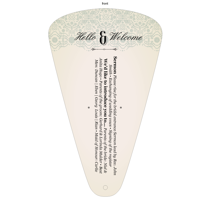 Order of service - Romantique: MAM001-019-OOS01.png