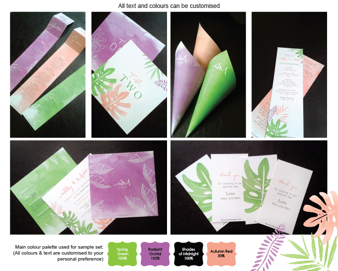 Invitation - Tropical Bliss: invitation-gallery-wedding-stationery-MPC001-014-Sample-Pictures.png