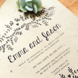 Wedding Invitation: Just Jo, designed by Participating studio: Dusty Mountain