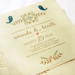 Wedding Invitation: Piccolo, designed by Participating studio: Dusty Mountain