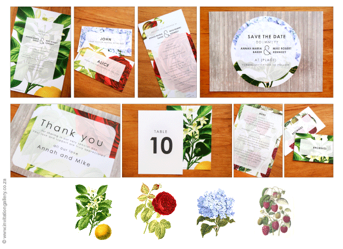 Invitation - Botany: invitation-gallery-wedding-stationery-MPC001-028-Photo-collage.png