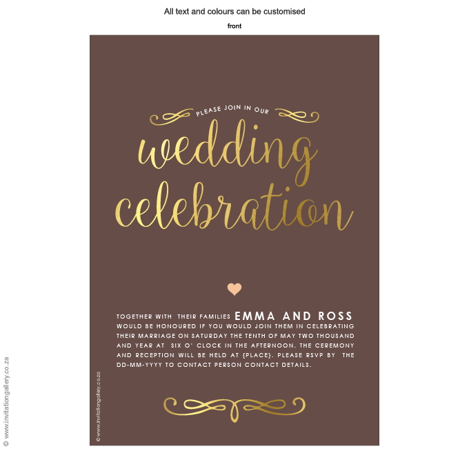Invitation - Heart of Gold: invitation-gallery-wedding-stationery-MPC001-030-INV01.png
