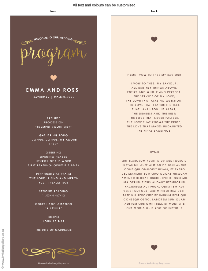 Program for the day - Heart of Gold: invitation-gallery-wedding-stationery-MPC001-030-PRO01.png