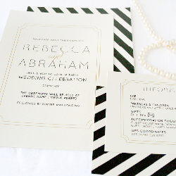 Wedding Invitation: Pearl, designed by Participating studio: Dusty Mountain