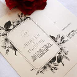 Wedding Invitation: Countryside, designed by Participating studio: Dusty Mountain
