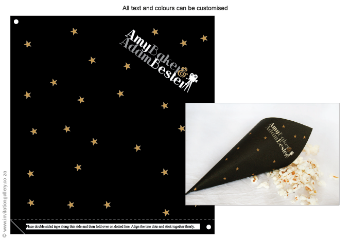 Confetti holder - The Movies: Invitation-gallery-wedding-invitations-movies-hollywood-COH01.png