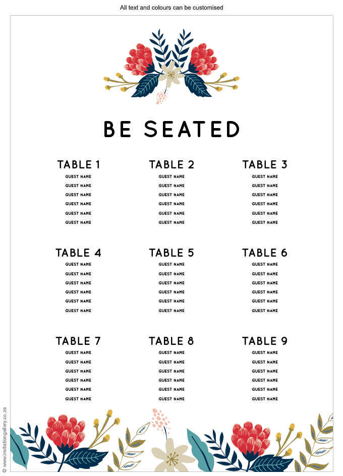 Seating plan - Hint of Summer: Invitation-gallery-wedding-stationery-summer-floral-modern-seating-plan.png